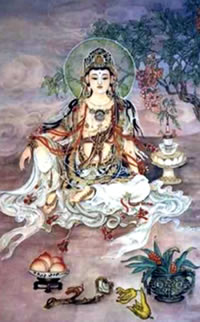 In Kali Yuga, Dea grants us both worldly enjoyment and liberation