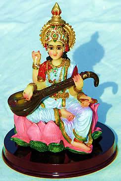 Sri Saraswati: one of our beautiful goddess images