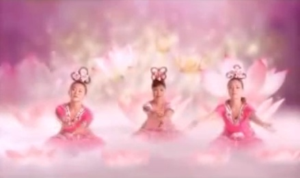 Lotus Dance: a feminine spiritual inspiration video clip