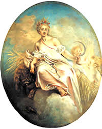 Greek Goddess Demeter, the Celestial Corn-Mother