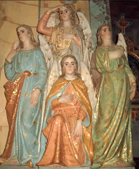 The Four Earthly Janyati of the Goddess Religion