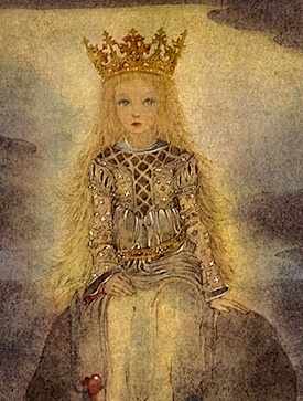 Child princess by Sulamith Wulfing