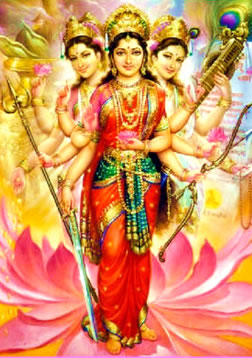The Triple Goddess in India