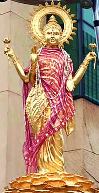 Solar Sri Lakshmi: an Image of Our Mother God proper to our part of the Yuga