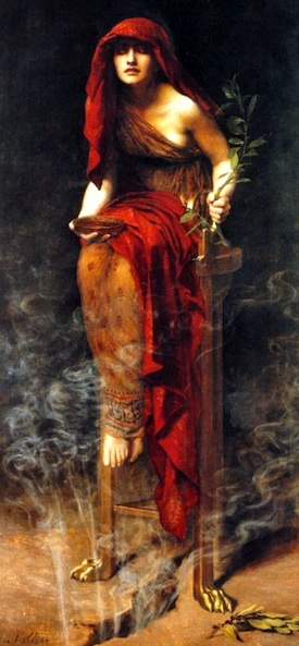 The Oracle of Delphi: An example of magic and religion united