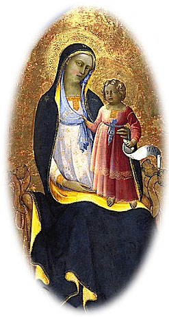 Painting of God the Mother and Her Daughter