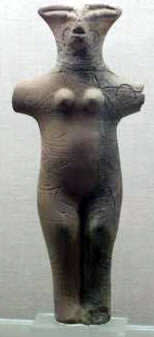 Neolithic Goddess: an Image of Our Mother God from earlier in the Yuga