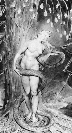 Original sin: Eve and the serpent