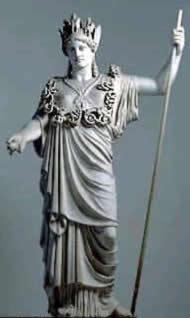 A Pagan Goddess statue