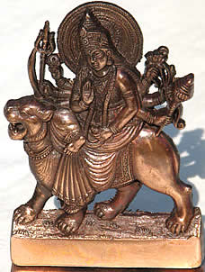 Statuette of Our Mother God as Sri Durga