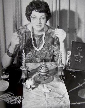Doreen Valiente, one of the founders of modern Wicca