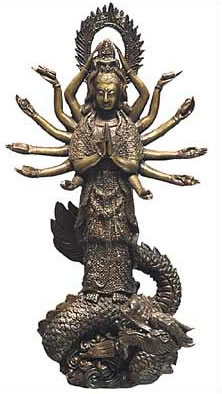 Thousand Hand Kuan Yin, the all-powerful Saviouress