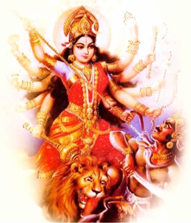 Durga defends us from the perils of Kali Yuga