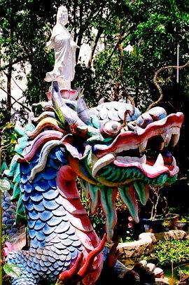 A ceremonial dragon
