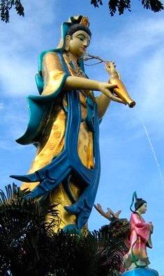 Hail Mary full of Grace – Kuan Yin distributes graces