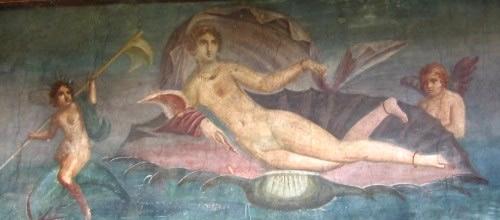 Roman Goddess Venus Anadyomene