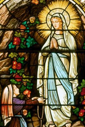 The transmission of Rosary prayer